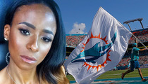 Miami Dolphins -- No Ban For Player's Wife ... After Alleged Cop Headbutt