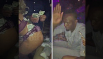 Usain Bolt -- Slappin' Dat Ass ... At Miami Nightclub (VIDEO)