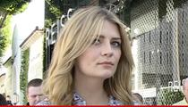 Mischa Barton -- Repo Man Coming For Her Audi Q3
