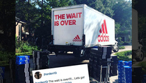 James Harden -- GIVES NIKE THE BOOT ... Breaks Out Truckload of Adidas Kicks