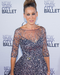 Sarah Jessica Parker Stuns at NYC Ballet Fall Gala In Incredibly Gorgeous Gown