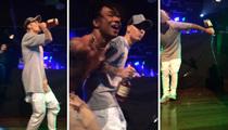 Justin Bieber -- Straight Booze, No Chaser ... with Rae Sremmurd  (VIDEO)