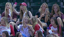 MLB Announcer -- Sorority Girl Shaming ... Over Selfies at Baseball Game (VIDEO)
