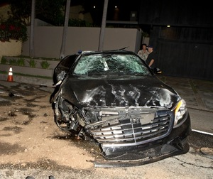 Brandon Davis -- The Car Crash Photos