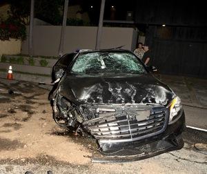 Brandon Davis -- The Car Crash Photos