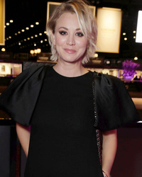 Kaley Cuoco Makes First Public Appearance Since Announcing Split