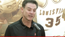 Rick Pitino -- Denies Involvement In Louisville Sex Scandal Allegations