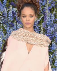 Rihanna Goes Glam at Dior's Paris Fashion Week Show -- But WT
