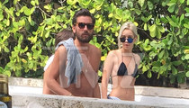 Scott Disick -- Miami Heat with 18-Year-Old Rebound Chick (PHOTO)