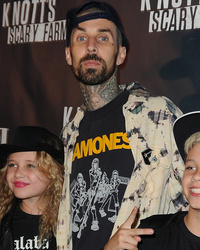 Looks Like Rita Ora's Already Met Travis Barker's Kids -- See Them at Same Event!