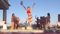 Houston Texans Cheerleaders -- Bikini Dance Party? BIKINI DANCE PARTY!! (VIDEO)