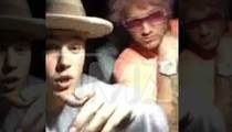 Justin Bieber -- Famous Friends Say He's Sober As A Mule (VIDEO)