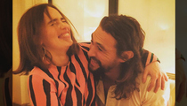 Emilia Clarke & Jason Momoa -- Khaleesi and Khal Drogo Reunited!!! (PHOTO)