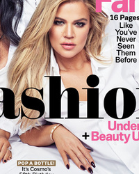 """Kardashian-Jenner Girls Pose Together as """"America's First Family"""" For Cosmo"""