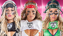 Legends Football League -- Our Hottest Chick ... Goes Both Ways (PHOTOS)