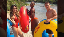 Serena Williams -- Booty-tubin ... With 'Arrow' Star