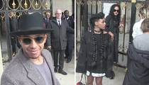 Lewis Hamilton -- REJECTED From Paris Fashion Show ... With Janelle Monae (VIDEO)
