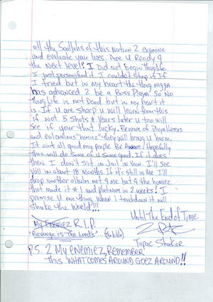 2Pac's Letter to Young Black Men