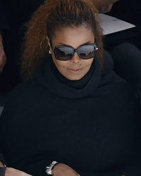 Janet Jackson Makes Rare Appearance with Her Husband at Paris Fashion Week