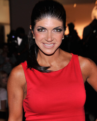 Video: Teresa Giudice's Daughter Gia Holds Back Tears Talking to Her Mom From Prison