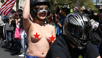 New Zealand's Boobs On Bikes Parade -- Check Out the NS