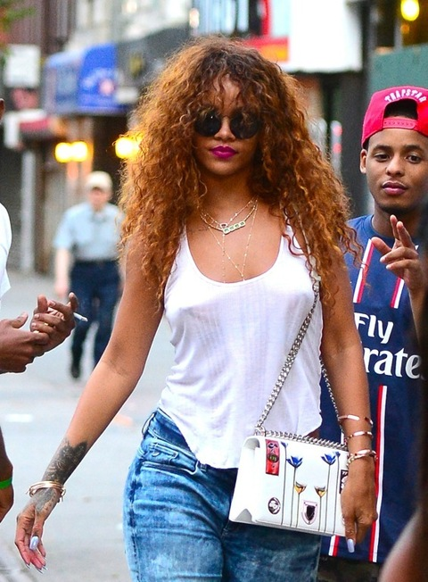 Welcome To Kester S Blog Rihanna Style Celebrate No Bra Day