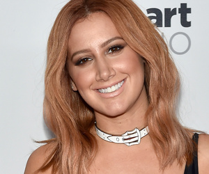 "Ashley Tisdale Debuts New ""Real Deep"" Red 'Do -- Like The Look?!"