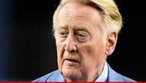 Vin Scully -- Out for the Playoffs ... After Medical Procedure