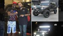 Floyd Mayweather -- Pimp Replacement Jeep In the Works ... After Roadside Inferno