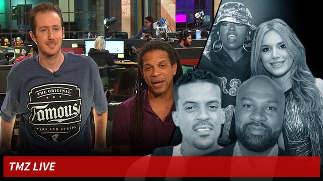 TMZ Live: Derek Fisher & Matt Barnes: War Over Reality ...