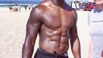 Guess Whose Shredded Stomach -- See The Jacked NFL Jock!