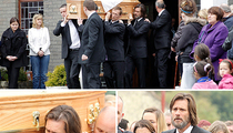 Jim Carrey Carries Ex-Girlfriend's Coffin in Final Goodbye