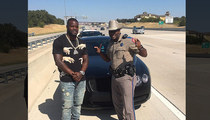 Dallas Cowboys -- Highway Patrol Trooper In Trouble ... For Photo with RB