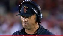 Steve Sarkisian -- Emotional, Crying ... Before Escorted From USC