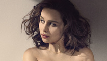 Emilia Clarke Goes Topless as She's Named Esquire's Sexiest Woman Alive