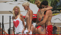 Tara Reid -- Hola, Boyfriend ... Hands Off Dat Ass! (PHOTOS)
