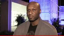 Lamar Odom -- 50/50 Chance for Survival