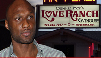 Lamar Odom -- Accusations He was Fleeced at Brothel, Money Taken ... Ranch Calls BS