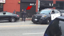 Ray J -- Breakfast Blowout ... I'm Calling Cops! (VIDEO UPDATE)