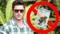 Zac Efron -- Extra Fired From 'Neighbors 2' After Posting Fake Weed Pic