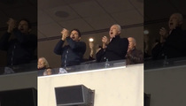 Bradley Cooper -- Sings Eagles Fight Song ... With Team Owner (VIDEO)