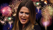 Khloe Kardashian Sued -- You Freaked Out My Dog During Fireworks Show