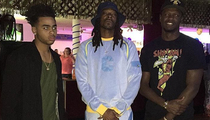 Lakers Prodigies -- Rollin' with Snoop ... At Skate Rink Birthday