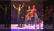 Backstreet Boys -- Surprise Gig at Balmain ... 'Cause Hot Models Want it That Way (VIDEO)