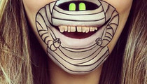 Instagram's Awesome Chin Art -- See the Creepy Craft!