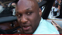 Lamar Odom Suffered a Dozen Strokes