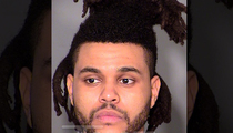 The Weeknd -- Pleads No Contest To Punching A Cop