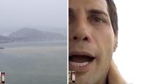 Joe Francis -- High Rise Danger As Hurricane Patricia Blows (TMZ LIVE)