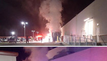 Whoopi Goldberg -- Tour Bus Bursts Into Flames ... Auditorium Evacuated