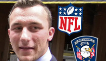 Johnny Manziel -- NFL Contacts Police In Domestic Violence Probe